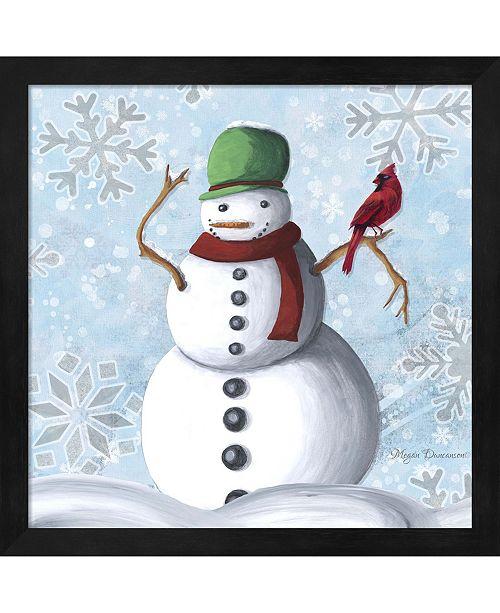 49aef4e380 Metaverse Winter Cheer 2 By Megan Duncanson Framed Art - Home - Macy s