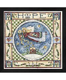 Christmas Hope By Shelly Rasche Framed Art
