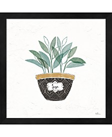 Fine Herbs VII By Janelle Penner Framed Art