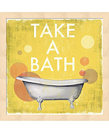 Take a Bath by Drako Fontaine Framed Art