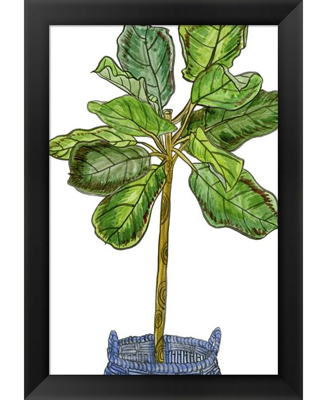Metaverse Potted Jungle IV By Melissa Wang Framed Art
