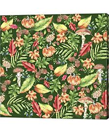Autumn Leaves by Lisa Powell Braun Canvas Art
