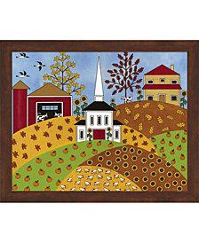 Autumn Tapestry By Medana Gabbard Framed Art