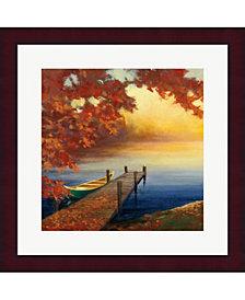 Autumn Glow Iii By Julia Purinton Framed Art