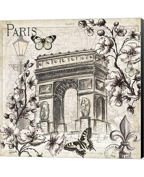Metaverse Paris In Bloom II By Tre Sorelle Studios Canvas Art