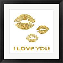 Lip Love by Posters International Studio Framed Art