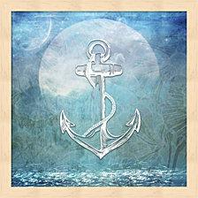 Sailor Away Anchor By Lightboxjournal Framed Art