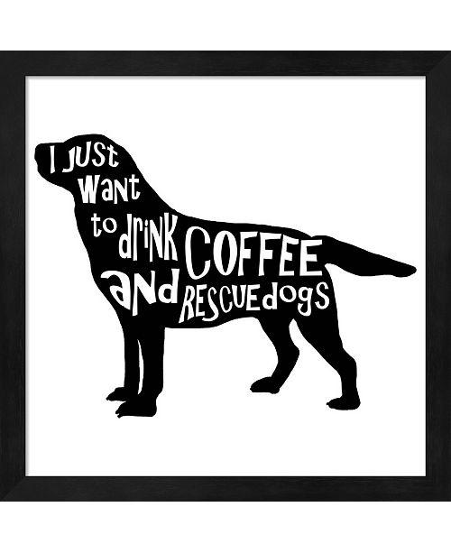 Metaverse Rescue Dog 5 By Lightboxjournal Framed Art