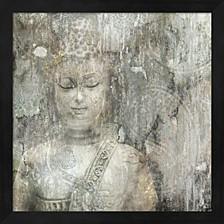 Buddha By Edward Selkirk Framed Art