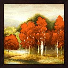 Autumn Birchwood I by Michael Marcon Framed Art