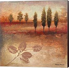 Warm Textural Landscape II by Michael Marcon Canvas Art