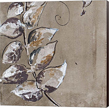 Watercolor Leaves Square I by Patricia Pinto Canvas Art