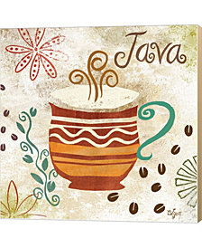 Colorful Coffee II by Rebecca Lyon Canvas Art