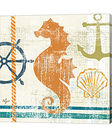 Nautical Brights IV by Rebecca Lyon Canvas Art