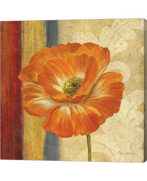 Metaverse Poppy Tapestry Stri1 By Pamela Gladding Canvas Art