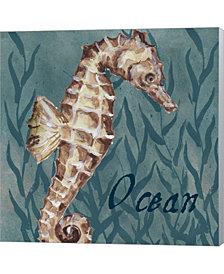 Nautical Critters I by Tre Sorelle Studios Canvas Art