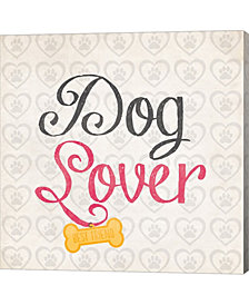 Dog Lover By Louise Carey Canvas Art
