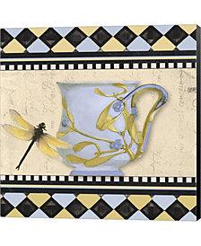 Bistro Nouveau Ii By Color Bakery Canvas Art