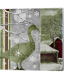 Country Christmas Du By Color Bakery Canvas Art