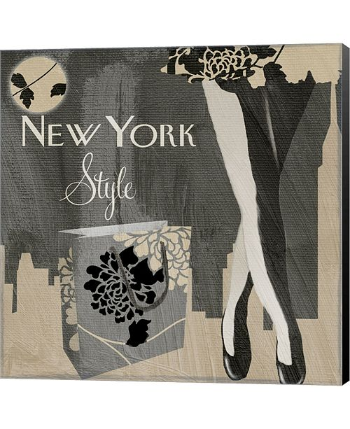 Metaverse New York Style II By Color Bakery Canvas Art