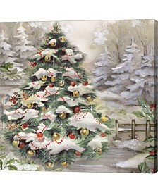 Christmas Tree In Sn By Dbk-Art Licensing Canvas Art