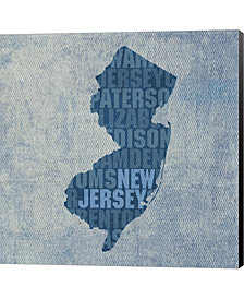 New Jersey State Wor By David Bowman Canvas Art