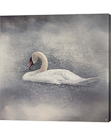Swan Storm By Jai Johnson Canvas Art