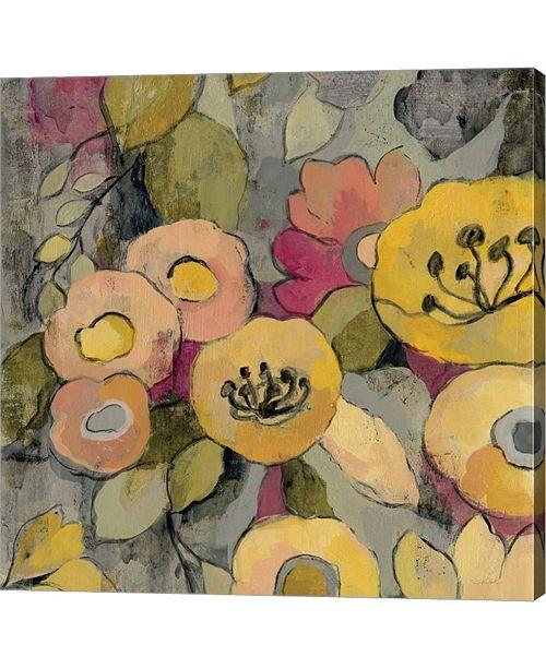 Metaverse Yellow Floral Duo II By Silvia Vassileva Canvas Art