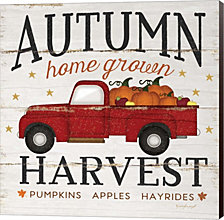 Autumn Harvest By Jennifer Pugh Canvas Art