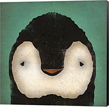 Baby Penguin by Ryan Fowler Canvas Art