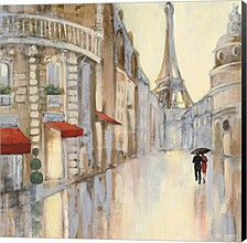 Touring Paris Couple Iii By Julia Purinton Canvas Art