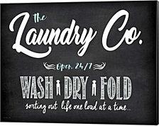 Laundry Co. By Jo Moulton Canvas Art