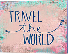 Travel the World by Katie Doucette Canvas Art