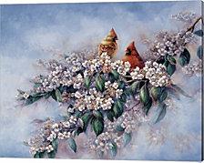 Royal Courtship by Wanda Mumm Canvas Art