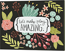 Make Today Amazing by Katie Doucette Canvas Art