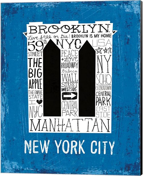 Metaverse Iconic Nyc V By Michael Mullan Canvas Art