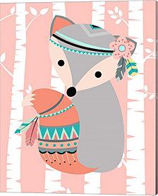 Tribal Fox Girl I by Tamara Robinson Canvas Art