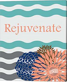 Rejuvenate Waves By Ramona Murdock Canvas Art