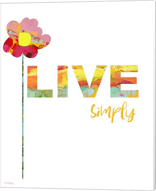 Metaverse Live Simply by Pamela J. Wingard Canvas Art - Wall Art ...