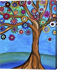 Banyan Tree Of Life 1 By Prisarts Canvas Art