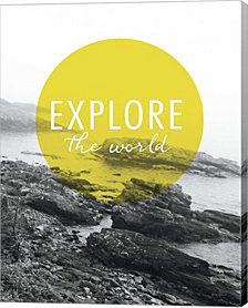 Explore the World by Laura Marshall Canvas Art