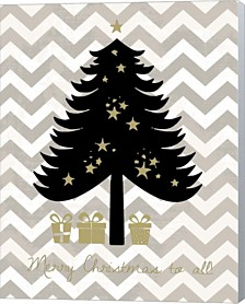 Christmas Tree By Erin Clark Canvas Art