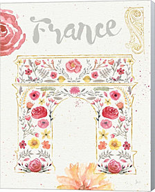 Paris Blooms II by Jess Aiken Canvas Art