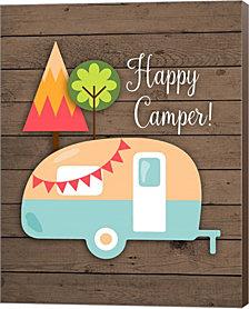 Happy Camper By Tamara Robinson Canvas Art