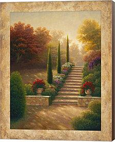 Viola Gardens By Michael Marcon Canvas Art