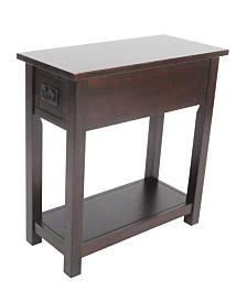 Mission Chairside Table, Espresso