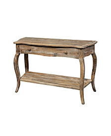 Rustic - Reclaimed Media/Console Table, Driftwood