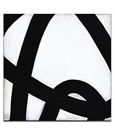"'Lines IV' Shape Canvas Wall Art, 30x30"""