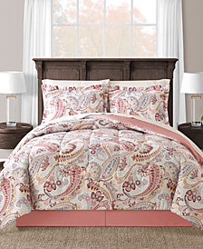 Meral Reversible 8-Pc. Queen Comforter Set