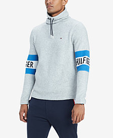 Tommy Hilfiger Men's Aspen Funnel-Neck Logo Sweater
